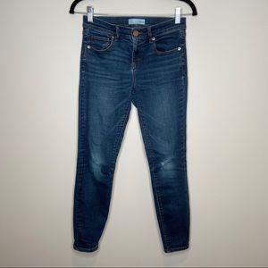 Ann Taylor The Loft skinny jeans Sz 0/25